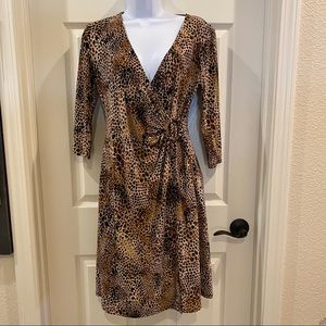 Vintage Evan-Picone Tiger King Dress